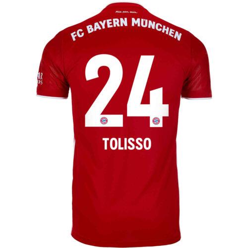2020/21 adidas Corentin Tolisso Bayern Munich Home Jersey