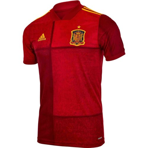 2020 adidas Spain Home Jersey