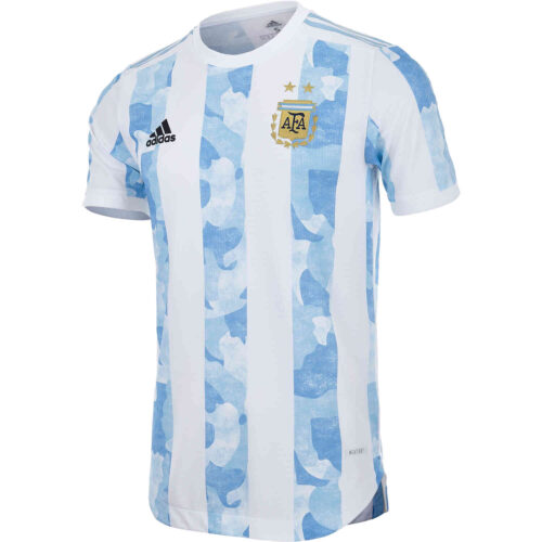 2020 adidas Argentina Home Authentic Jersey