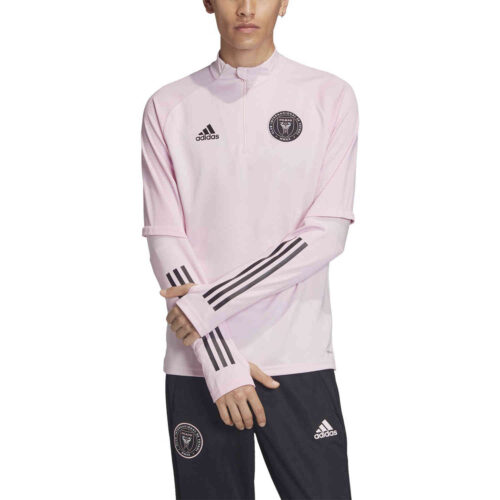 adidas Inter Miami Training Top – Clear Pink/Black
