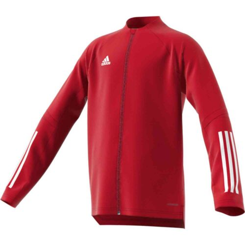 Kids adidas Condivo 20 Training Jacket – Team Power Red