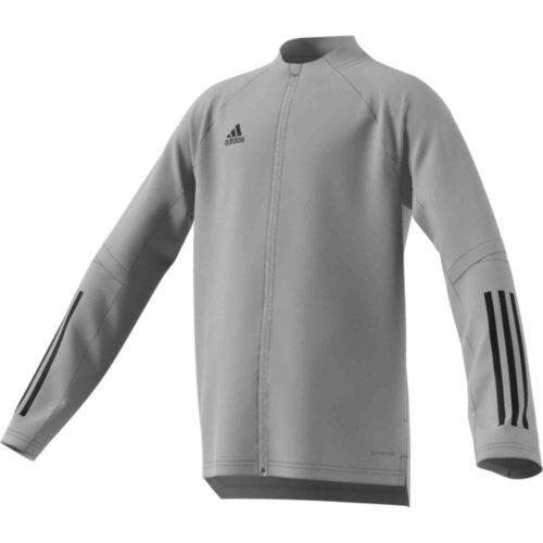 Kids adidas Condivo 20 Training Jacket – Team Mid Grey