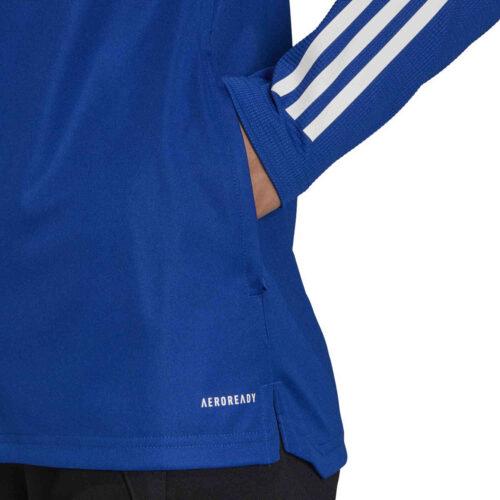 Womens adidas Condivo 20 Training Jacket – Team Royal Blue