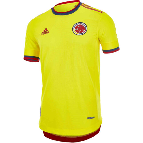 2021 adidas Colombia Home Authentic Jersey