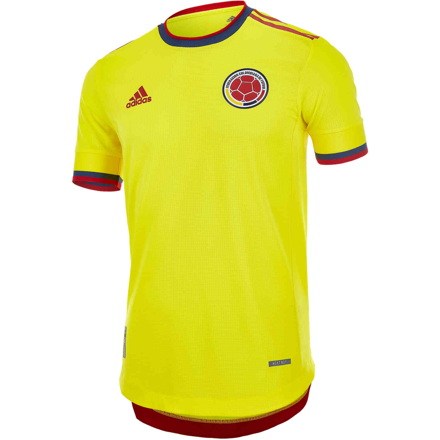 2021 adidas Colombia Home Authentic Jersey - SoccerPro