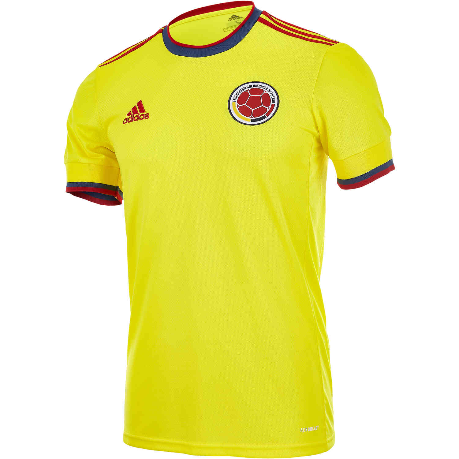 2021 adidas Colombia Home Jersey - SoccerPro