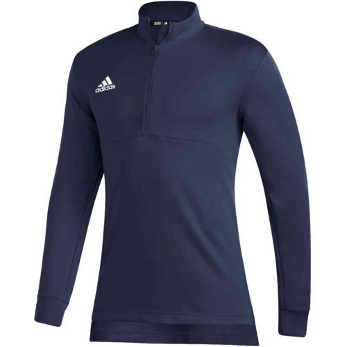 adidas Team Issue 1/4 zip Top – Navy