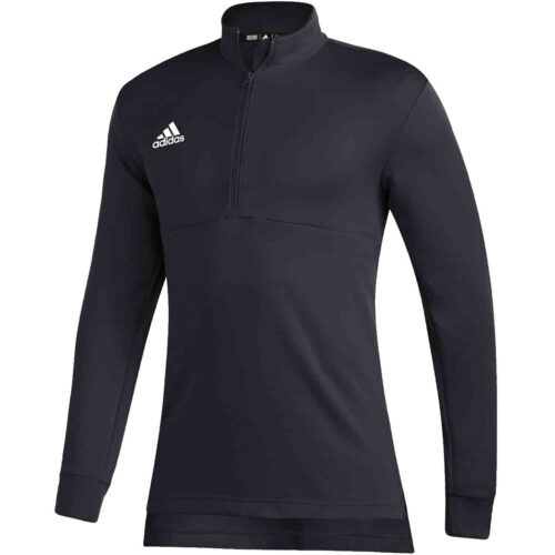 adidas Team Issue 1/4 zip Top – Black