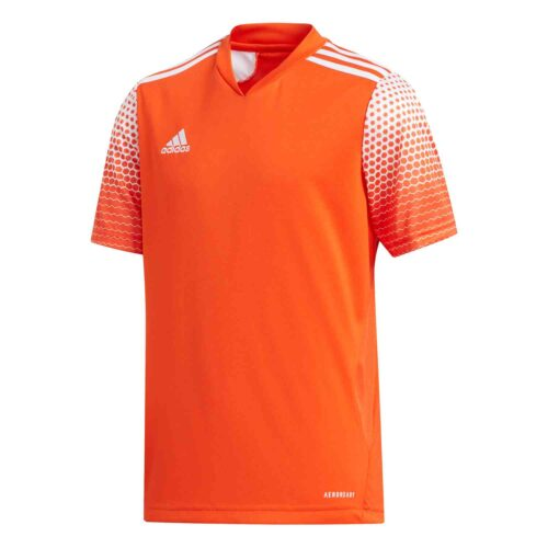 Kids adidas Regista 20 Jersey – Team Orange/White