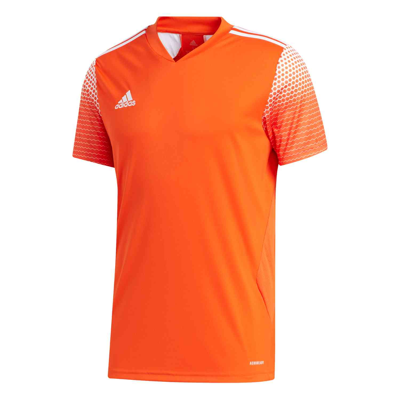 adidas Regista 20 Jersey - Team Orange/White - SoccerPro