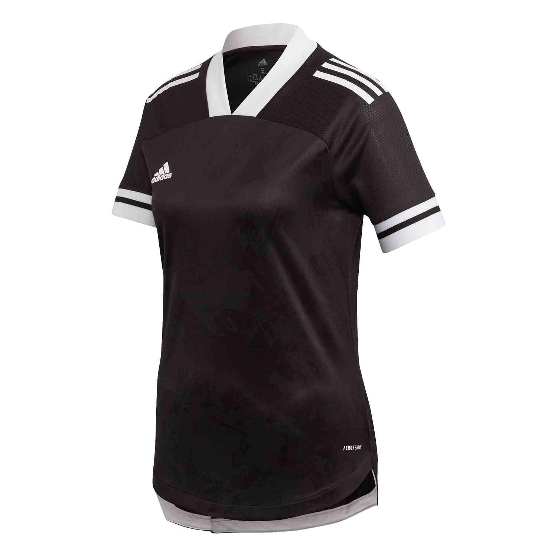 Womens adidas Condivo 20 Jersey – Black/White