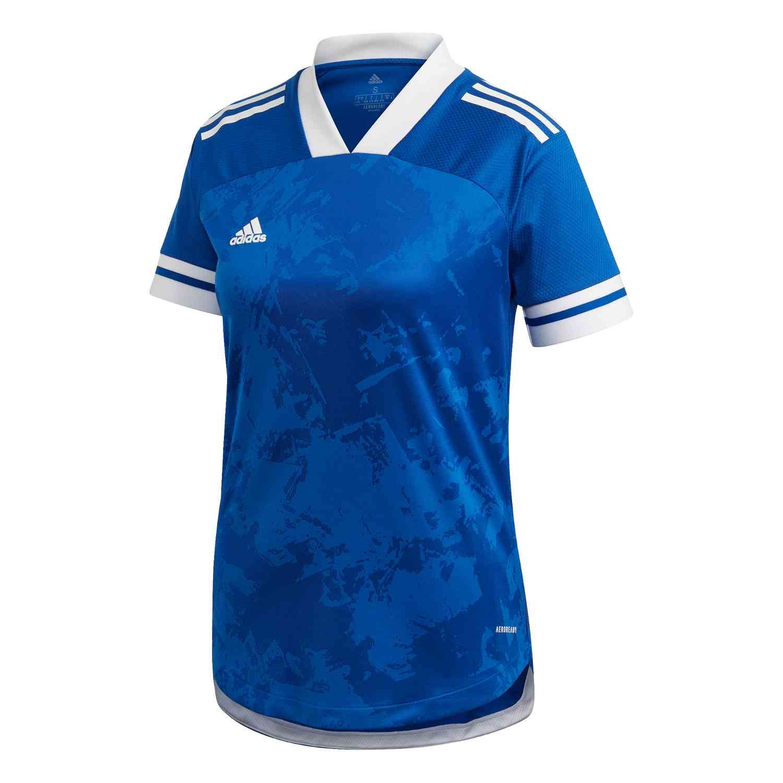 Womens adidas Condivo 20 Jersey – Team Royal Blue/White