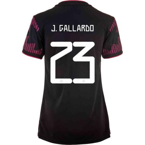 2021 Womens adidas Jesus Gallardo Mexico Home Jersey