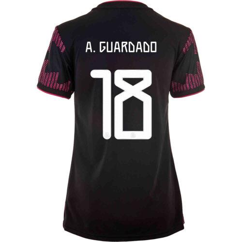 2021 Womens adidas Andres Guardado Mexico Home Jersey