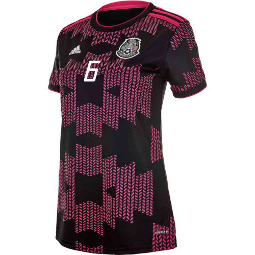 2021 Womens adidas Jonathan dos Santos Mexico Home Jersey