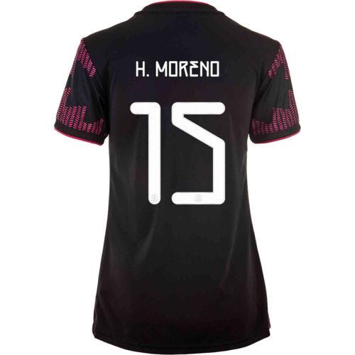 2021 Womens adidas Hector Moreno Mexico Home Jersey