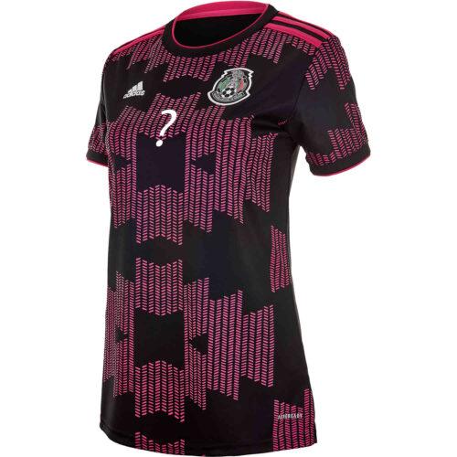 2021 Womens adidas Alan Pulido Mexico Home Jersey