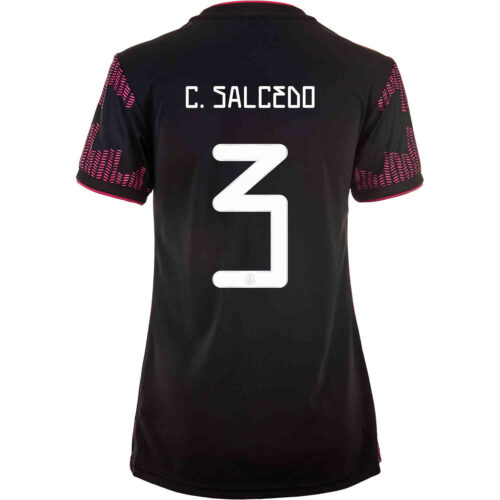 2021 Womens adidas Carlos Salcedo Mexico Home Jersey