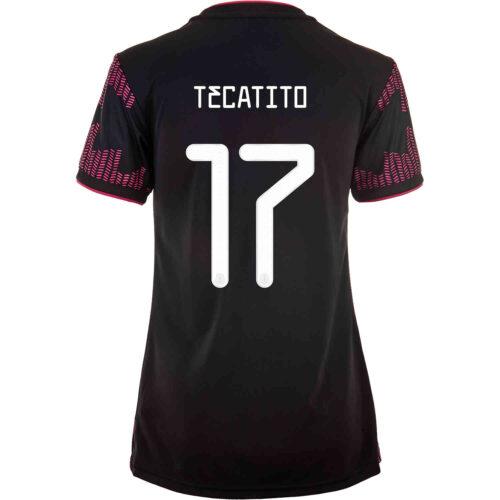 2021 Womens adidas Tecatito Mexico Home Jersey