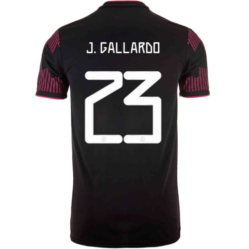 2021 Kids adidas Jesus Gallardo Mexico Home Jersey