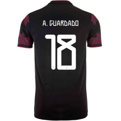 2021 Kids adidas Andres Guardado Mexico Home Jersey