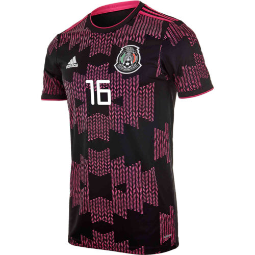 2021 Kids adidas Hector Herrera Mexico Home Jersey