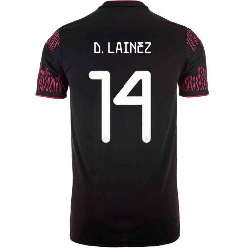 2021 Kids adidas Diego Lainez Mexico Home Jersey