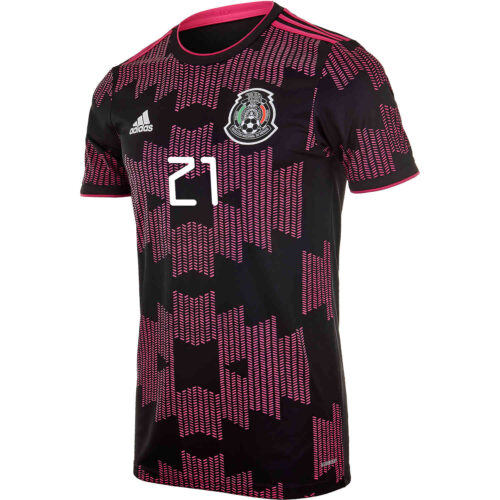 2021 Kids adidas Henry Martin Mexico Home Jersey