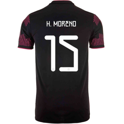 2021 Kids adidas Hector Moreno Mexico Home Jersey
