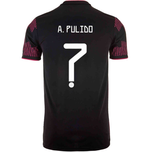 2021 Kids adidas Alan Pulido Mexico Home Jersey