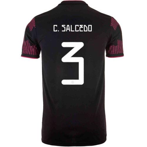 2021 Kids adidas Carlos Salcedo Mexico Home Jersey