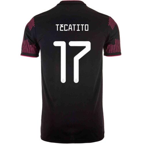2021 Kids adidas Tecatito Mexico Home Jersey
