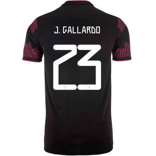 2021 adidas Jesus Gallardo Mexico Home Jersey