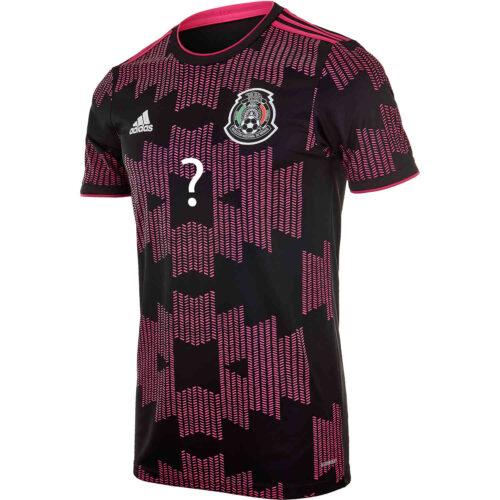 2021 adidas Alan Pulido Mexico Home Jersey