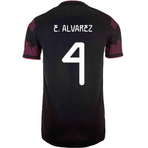 2021 adidas Edson Alvarez Mexico Home Authentic Jersey