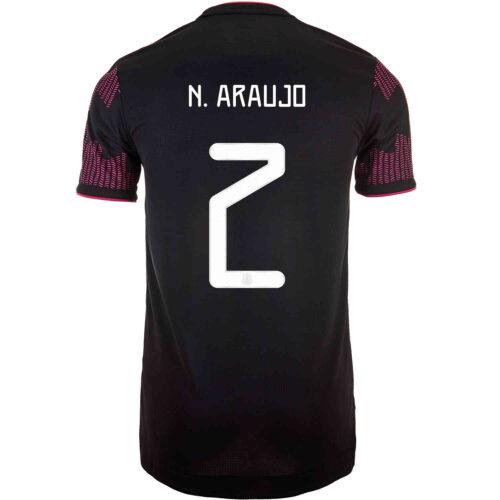 2021 adidas Nestor Araujo Mexico Home Authentic Jersey