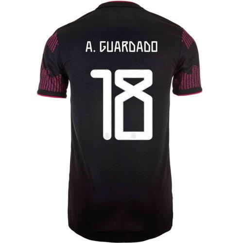 2021 adidas Andres Guardado Mexico Home Authentic Jersey