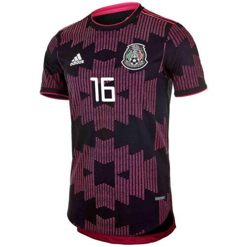 2021 adidas Hector Herrera Mexico Home Authentic Jersey