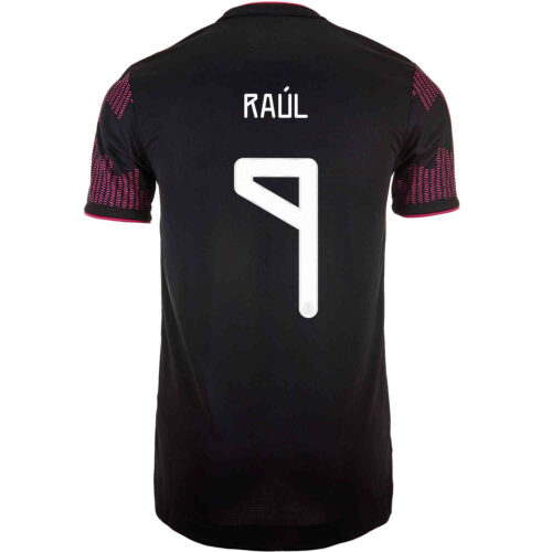 2021 adidas Raul Jimenez Mexico Home Authentic Jersey