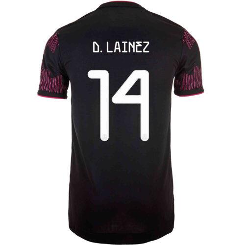 2021 adidas Diego Lainez Mexico Home Authentic Jersey