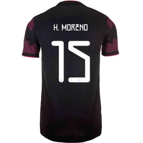 2021 adidas Hector Moreno Mexico Home Authentic Jersey