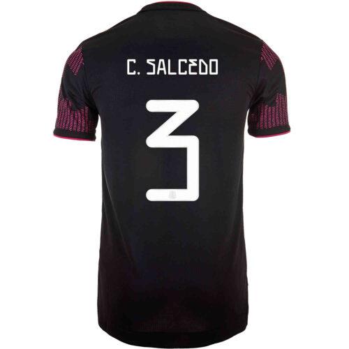 2021 adidas Carlos Salcedo Mexico Home Authentic Jersey