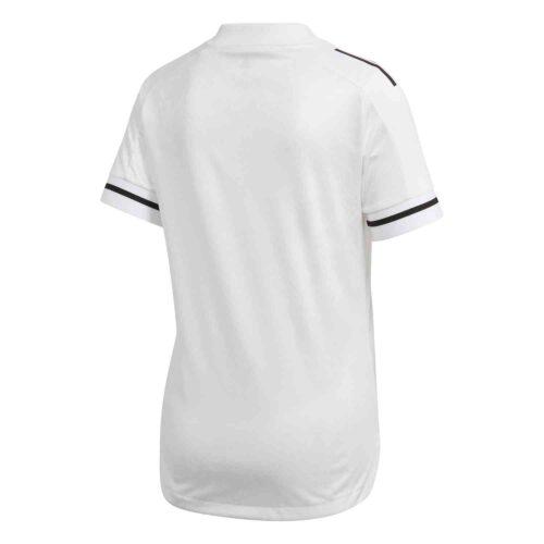 Womens adidas Condivo 20 Jersey – White/White