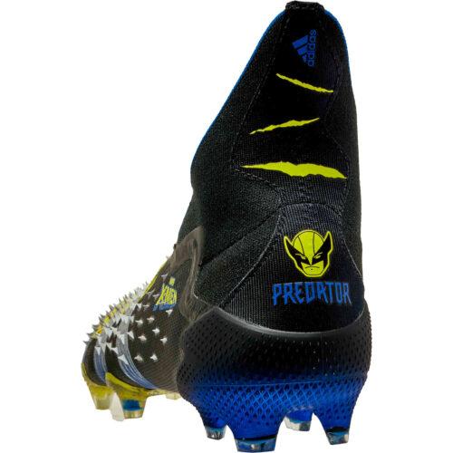 adidas x Marvel X-Men Predator Freak+ FG – Bright Yellow & Silver Metallic with Core Black