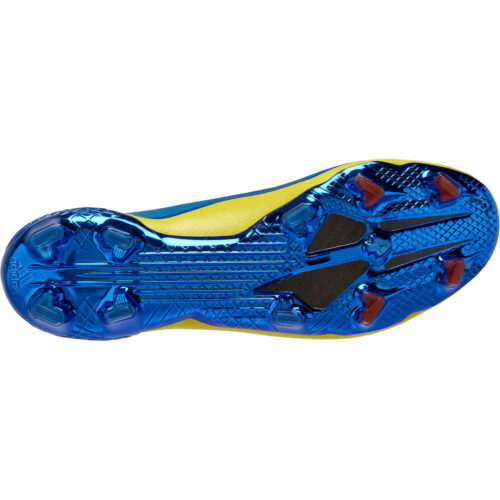 adidas x Marvel X-Men X Ghosted.1 FG – Blue & Vivid Red with Bright Yellow
