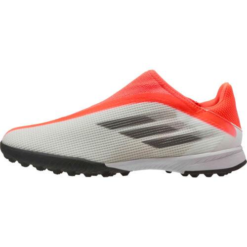 Kids adidas Laceless X Speedflow.3 TF – Whitespark