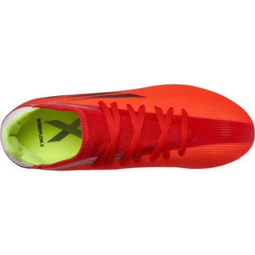 Kids adidas X Speedflow.3 FG – Meteorite