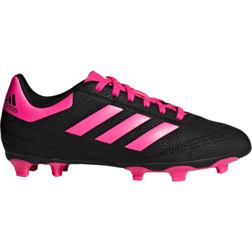 Kids adidas Goletto VI FG – Youth FG – Black/Shock Pink/White