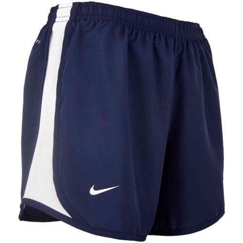Girls Nike USWNT Tempo Shorts – Navy