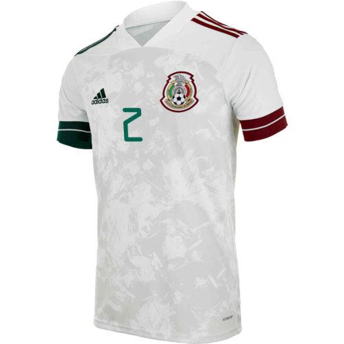2020 adidas Nestor Araujo Mexico Away Jersey